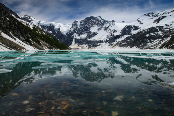 Lake of the hanging Glacier - JL